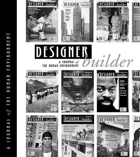Designer builder magazine for Builder designer